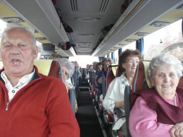 Lustige Fahrt nach Halle