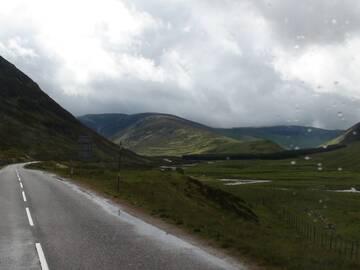 Herrliche Landschaft auf Skye