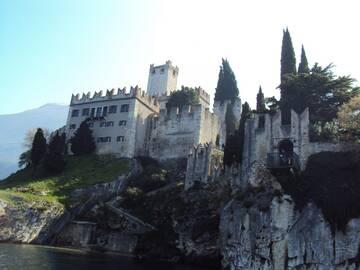Skaliger Burg in Malcesine