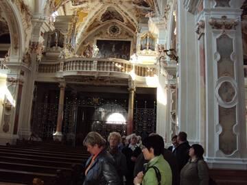 Innenansicht Kloster Neustift
