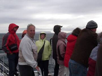 Stürmische Überfahrt zur Insel Skye