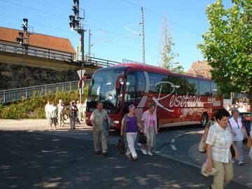 Ankunft in Pirna