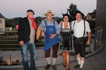 Gäste aus Frankreich, Südtirol, Schweiz und aus Bayern