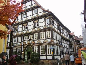 Fachwerkhäuser in Hameln