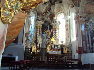 Kloster Neustift - Innenansicht