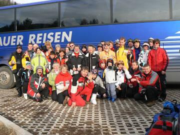 Fahrt nach Südtirol zum Skifahren