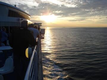 20.30 Uhr wir legen ab und nehmen Kurs Richtung Hull.